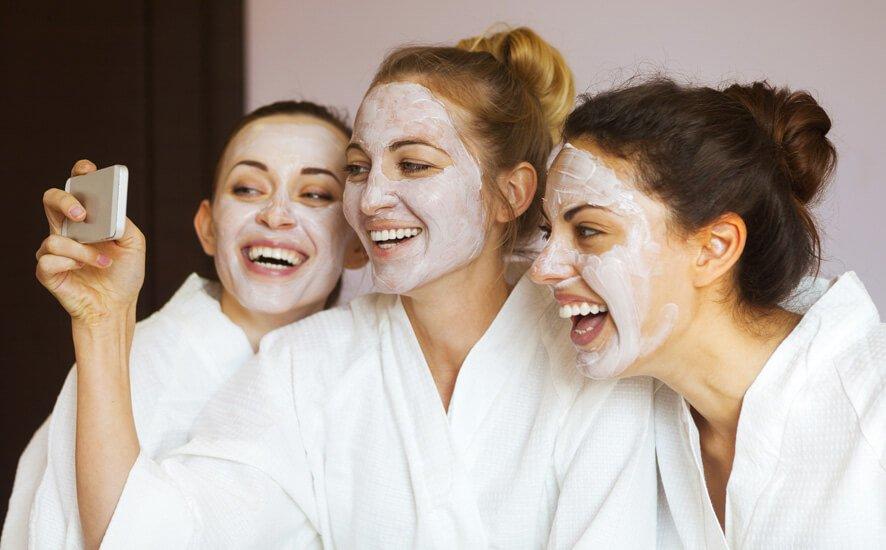 Millennials in hair and beauty salon