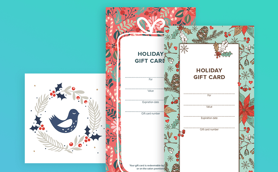 Perfect Holiday vouchers for your business for free