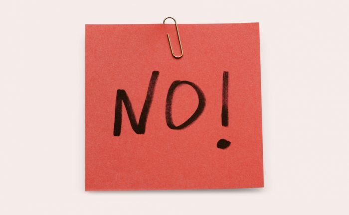 When and how to say no to a potential client?