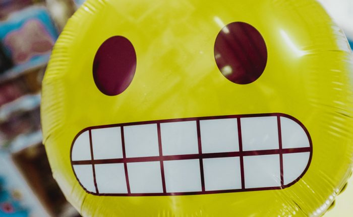 grinning baloon