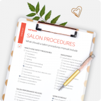 salon procedures