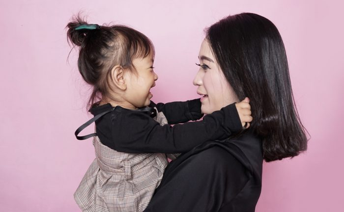Mothers in beauty business