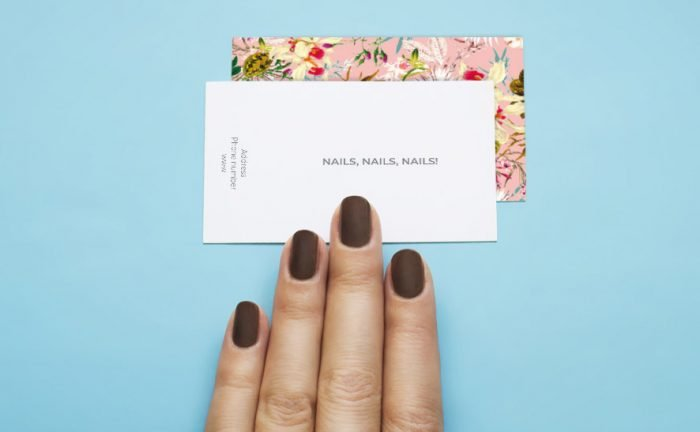 3 nail business card ideas to give your business pizzazz!