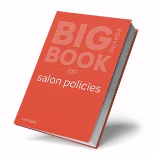 Salon policies ebook